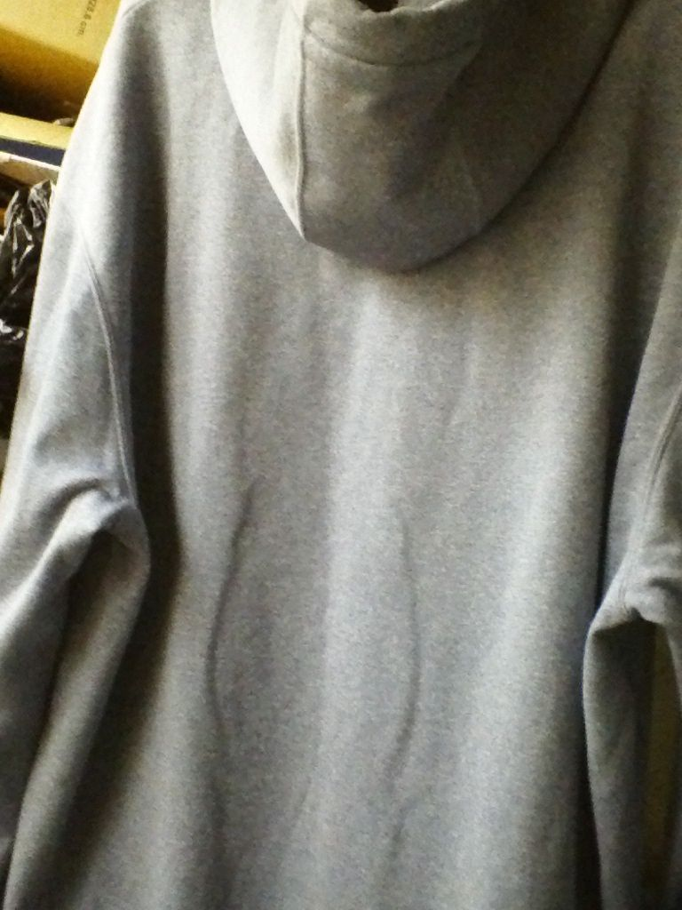 UNDER ARMOUR XL - 2Xl GRAY POLYESTER SHINE HOODIE