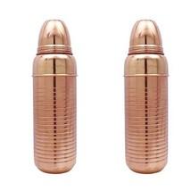 2 Pcs Copper Cocktail Shaker Bartender Bar Accessories Drink Mixer Barwa... - $33.49