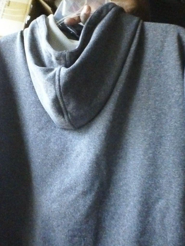 Tex gear training gray XL HOODIE SHINNY light camo