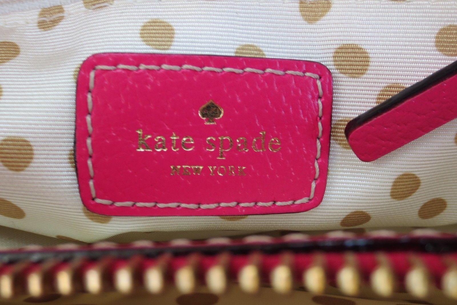 Pink Kate Spade Hand Painted Butterfly Fantasy Floral Quinn Leather Bag