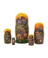 """Frost on the Pumpkin Nesting Doll - 5"""" w/ 5 Pieces - $38.00"""