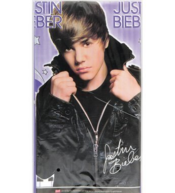 Justin Bieber Plastic Table Cover