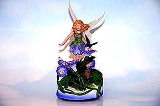 Flower fairy collectible musical