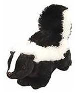 Wild Republic Plush Black & White, 12 Inch Skunk Stuffed Animal, Boys an... - $13.95
