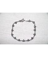 Silver Heart Design Bracelet - $19.95