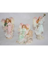Seraphim Classic Angel Ornaments *Set of 3* Joy - Annalisa - Noelle  #1733 - $44.00