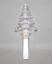 Mikasa Holiday Time Austrian Lead Crystal Tree Bottle Stopper #1841 - $23.00