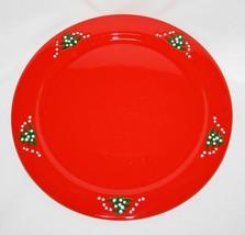 """Waechtersbach Germany Red Christmas Tree 12"""" Service Charger Plate Platt... - $50.00"""