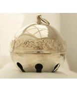 Wallace Silverplate -1977 Mistletoe & Doves- Sleigh Bell Christmas Ornam... - $60.00