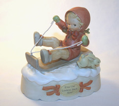 "Memories Of Yesterday 1991  ""S'No Use Looking Back Now!""  Music Box  #52... - $72.00"