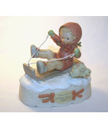 """Memories Of Yesterday 1991  """"S'No Use Looking Back Now!""""  Music Box  #52... - $72.00"""