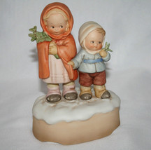 "Memories Of Yesterday 1988 ""We Wish You A Merry Christmas"" Music Box  #1... - $68.00"