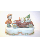 """Memories Of Yesterday 1990 """"Got To Get Home For The Holidays"""" Music Box ... - $72.00"""