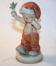 "Memories Of Yesterday 1988 ""How 'Bout A Little Kiss?"" Boy Mistletoe  #11... - $29.00"