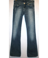 IMMORTALITY Couture Diana Taleshi Boot Cut Low Waist Jeans Size 25   #627 - $45.00