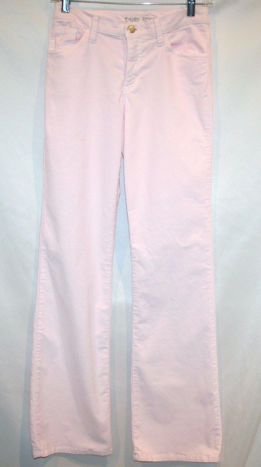 DEAD SEXY Stretch Corduroy Light Ice Pink 5 Pocket Boot Cut Pant Size 25