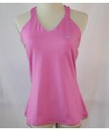 Nike Dri-Fit Pink Racerback Shelf Bra Tank Top Large   #2012 - $38.00