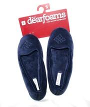 Dearfoam Cadet Navy Womes Slippers SMALL 5-6 **NEW**     #1491 - £13.61 GBP