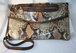 Jessica Simpson Convertible Python Crossbody Bag Nwt D126 - $54.00