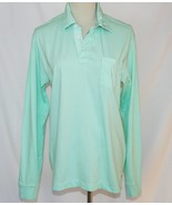 Vineyard Vines Womens Long Sleeve Mint Green Top Small   #1864 - $42.00