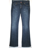 IMMORTALITY Couture Diana Taleshi Low Rise Boot Cut Jeans Size 25  #631 - $45.00