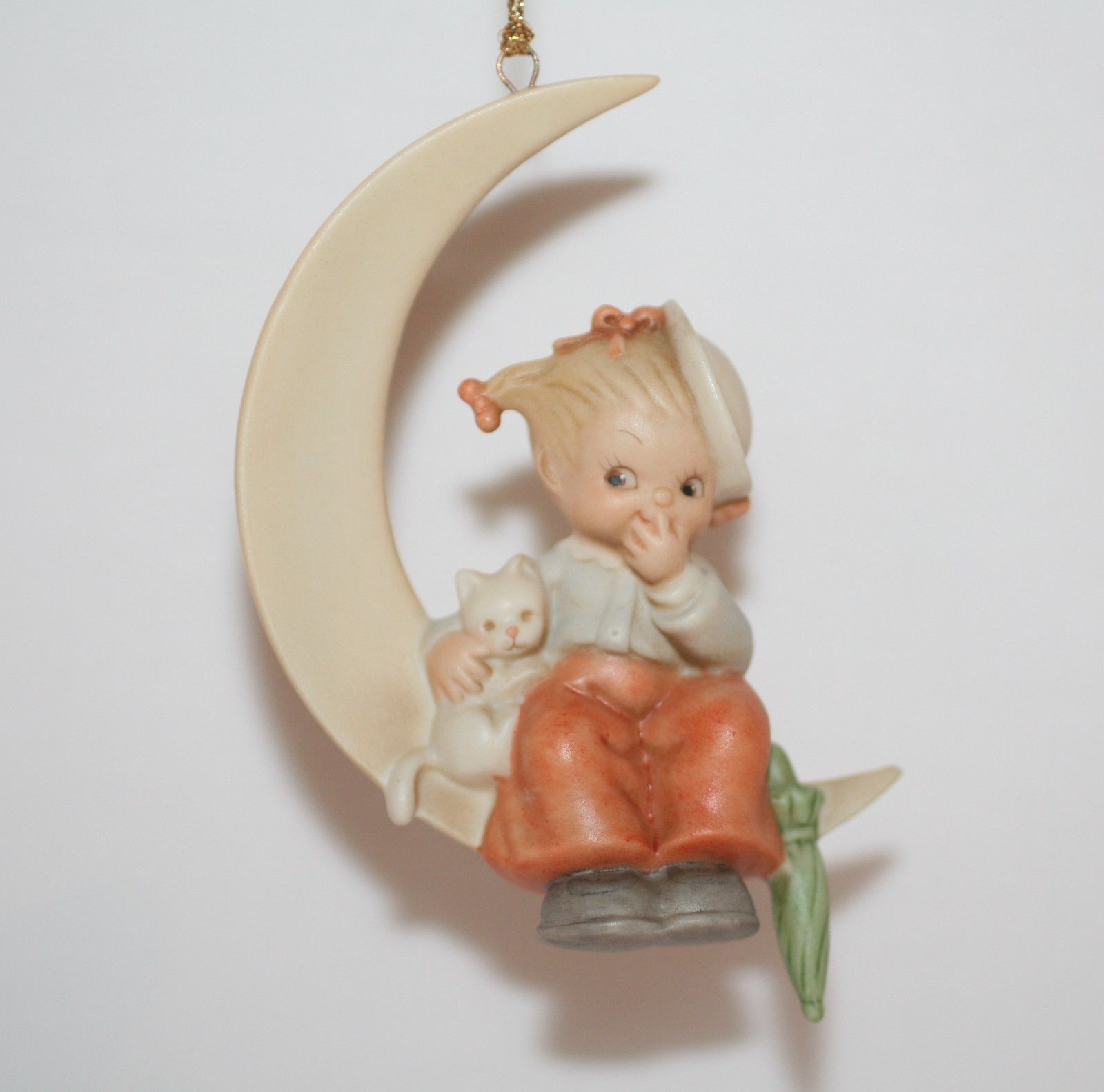 "Memories Of Yesterday Ornament 1992 ""With Luck & A Friend""  #MY922  MIB"