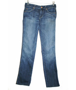 7 FOR ALL MANKIND Low Rise Slim Stretch KATE 5 pkt Jeans Size 26    #629 - $80.00