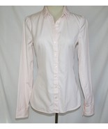Tommy Hilfiger Pink White Stripe Fitted Cotton Shirt -Never Worn-  #1885 - $32.00