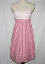 Tommy Hilfiger Pink White Striped Dress Sundress Size 4  #1858 - €37,42 EUR