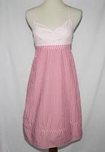 Tommy Hilfiger Pink White Striped Dress Sundress Size 4  #1858 - $42.00