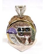 Blue Sky Heather Goldminc Jewelry Store Shop Tea Light Holder w Base Ht5... - $29.39