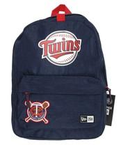 NEW ERA MLB Minnesota Twins Blue Heritage Patch Stadium Pack Backpack - ₹2,295.30 INR