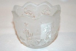 MIKASA HOLIDAY CLASSIC Germany Santa Votive Candle Holder  #963 - $18.00