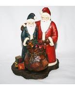 Old Glory Collection 1st Edition Krajewski Merry Moments Santa Figurine ... - $30.00