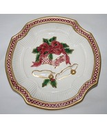 Fitz & Floyd Holiday Bells Canape Plate  #1393 - $16.00