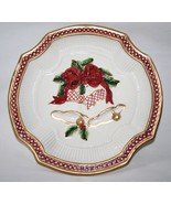 Fitz & Floyd Holiday Bells Canape Plate  #1389 - $14.00