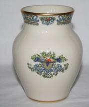 "Lenox, Gold Backstamp, Autumn 24k Trim Small 4.5"" Vase -Tag Attached-  - $34.00"