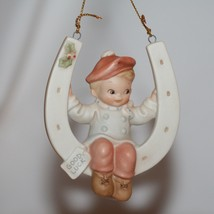 "Memories Of Yesterday Ornament 1991  ""Lucky Me""  #525448 Mint in Box - $16.00"