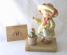 "1993 Memories Of Yesterday Fairy Tale ""Mary Mary Quite Contrary""  #52643... - $32.00"