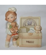 Memories Of Yesterday 1991  Girl With Toy Chest Figurine  #527300  -MIB- - $25.00