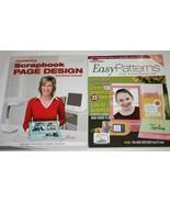 (2) Creating Keepsakes Memory Makers Idea Books Easy Patterns & Design S... - $15.00