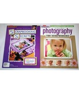 (2) Creating Keepsakes Photography & Scrapbooking Secrets Idea Books, So... - $20.00