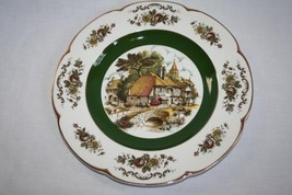 WOOD & SONS Ascot Village Service Charger Plate  #539 - $30.00