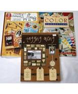 (3) Scrapbooking Idea Books  Tagging Along, Scrappin w Wire, Color Conne... - $17.00
