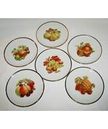 Bareuther Waldsassen Bavaria Fruit Nut Berry Set of 6 Salad Plates -EUC-... - $50.00