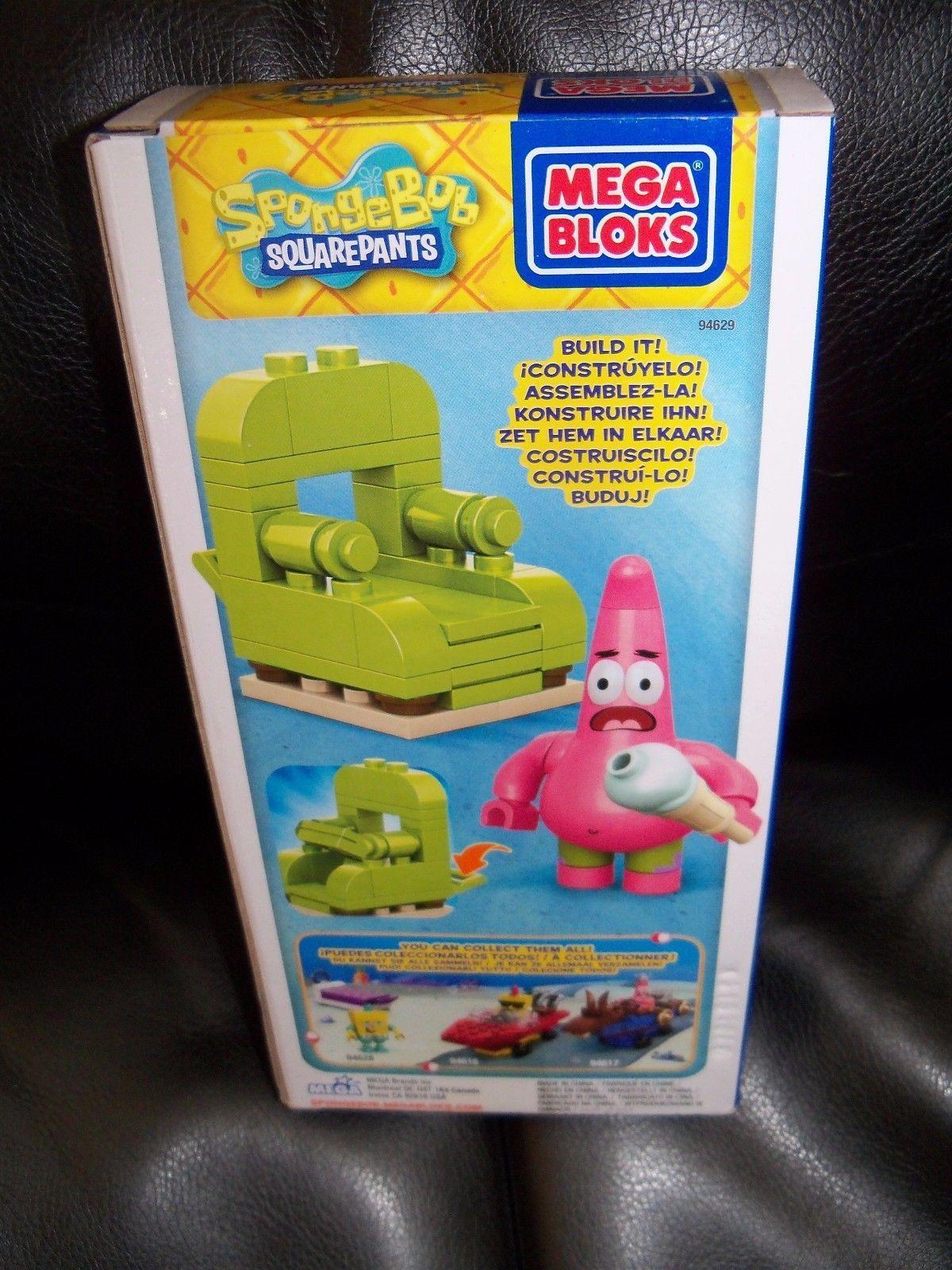 Mega Bloks Spongebob Wacky Packs - Patrick Model:18951241 NEW HTF