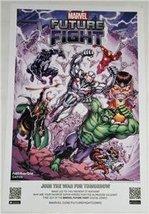 """Marvel Future Fight 11""""x17"""" Original Promo Game Poster Sdcc 2015 Comic Con - $14.69"""