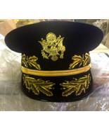 US ARMY GENERAL DARK NAVY UNIFORM HAT NEW MOSTLY ALL SIZES CP MADE WWII... - $142.56