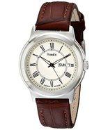 Timex Men's T2E581 Elevated Classics Silver-Ton... - $24.95