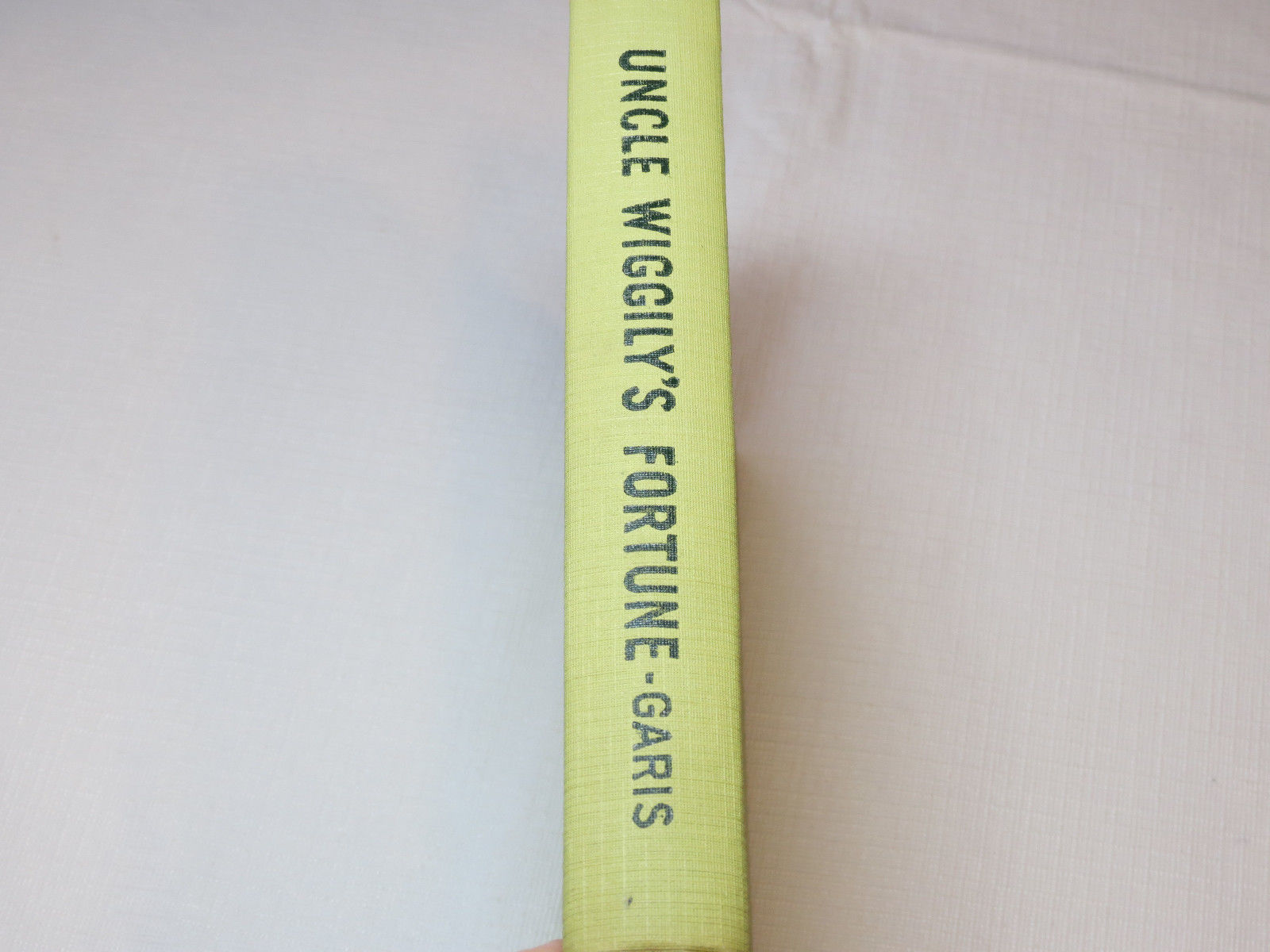 Uncle Wiggily's Fortune Howard R. Garis 1942 book without dust cover #%